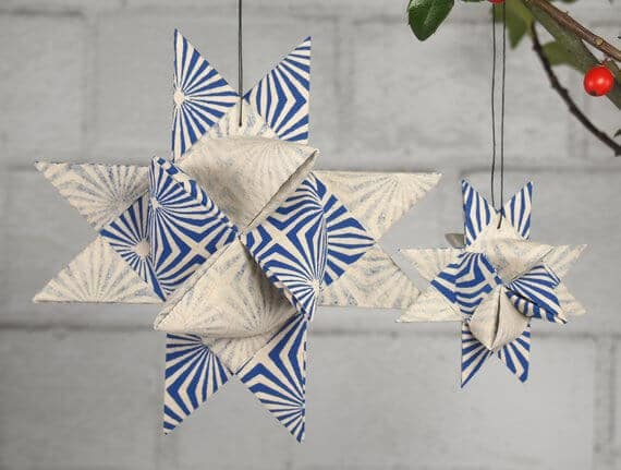 Etsy Scandinavian Christmas decoration hygge star