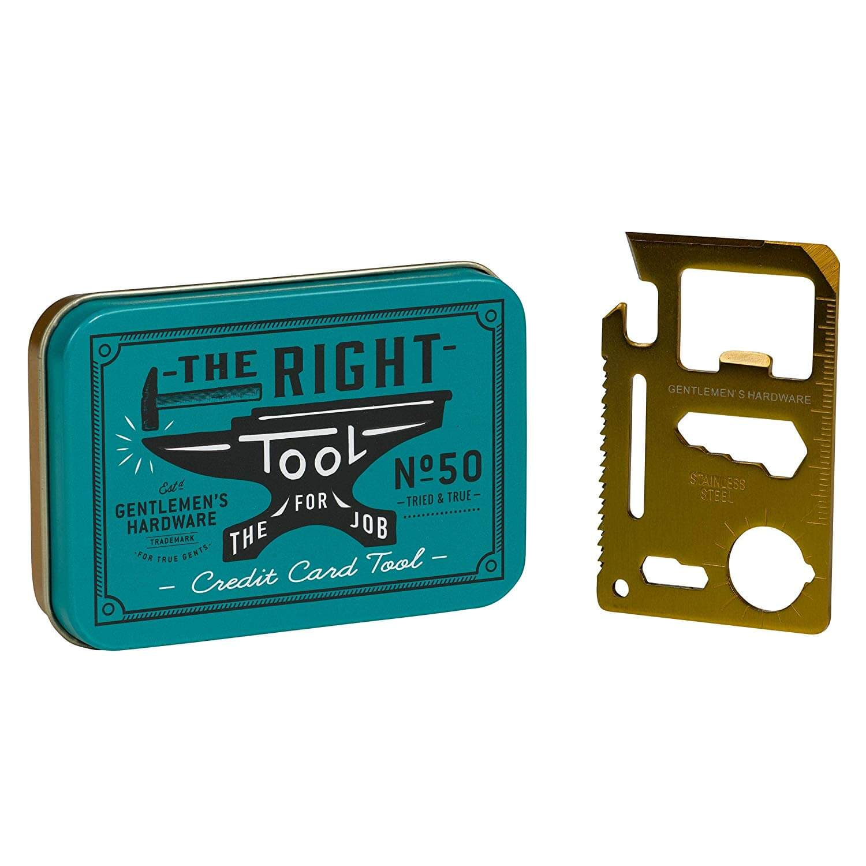 Christmas stocking filler ideas, Hardware Credit Card Tin