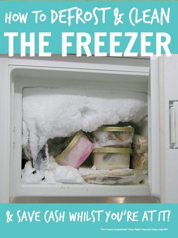 How to defrost and clean the freezer - you really can save a heap of money if you annually defrost and clean the freezer ..