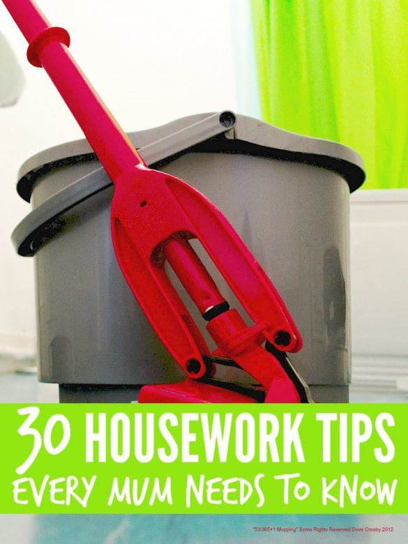 Essential Housework Tips
