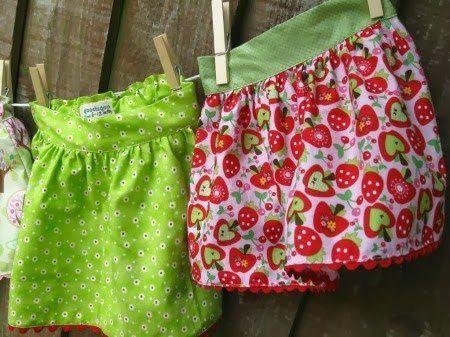 Downloadable Free Twirly Baby Skirt Pattern, Free downloadable baby clothes pattern, easy baby clothes pattern, easy baby skirt pattern