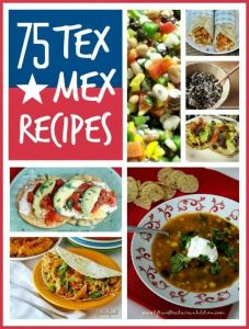 Tex mex recipes ... 75 brilliant tex mex recipes, enchiladas, tortillas, burritos the lot!