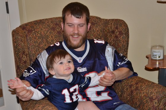Father son, NFL, Football, Patriots