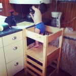 Learning tower, mommy's helper, toddler, cooking