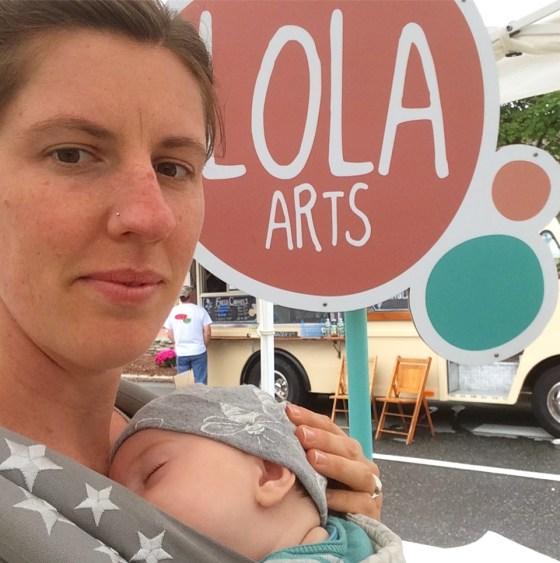 Mamas in Small Biz Series : Lola Arts Handmade Pottery. #ShopSmall #ChristmasGifts. MumsOrchardhHouse.com