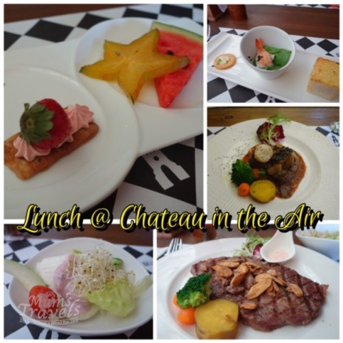 Lunch @ 天空之城 Chateau in the Air