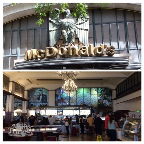 The most beautiful MacDonald's in the World is at Porto