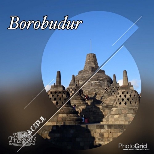 Borobodur, 9th century Buddhist temple A UNESCO World Heritage Site