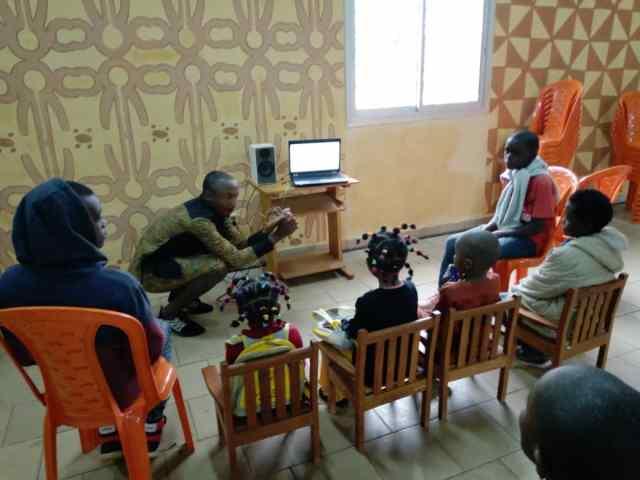 animateur jeunesse_herman labou_alliance franco-camerounaise