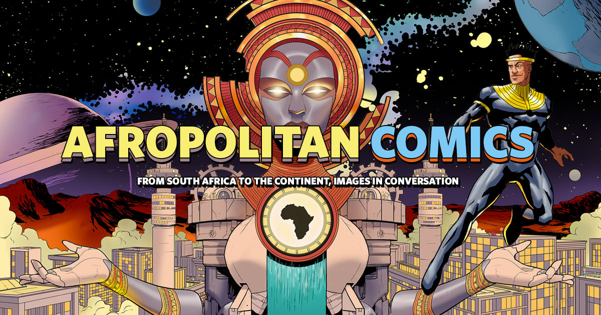 Afropolitan Comics, Muna Kalati, South Africa