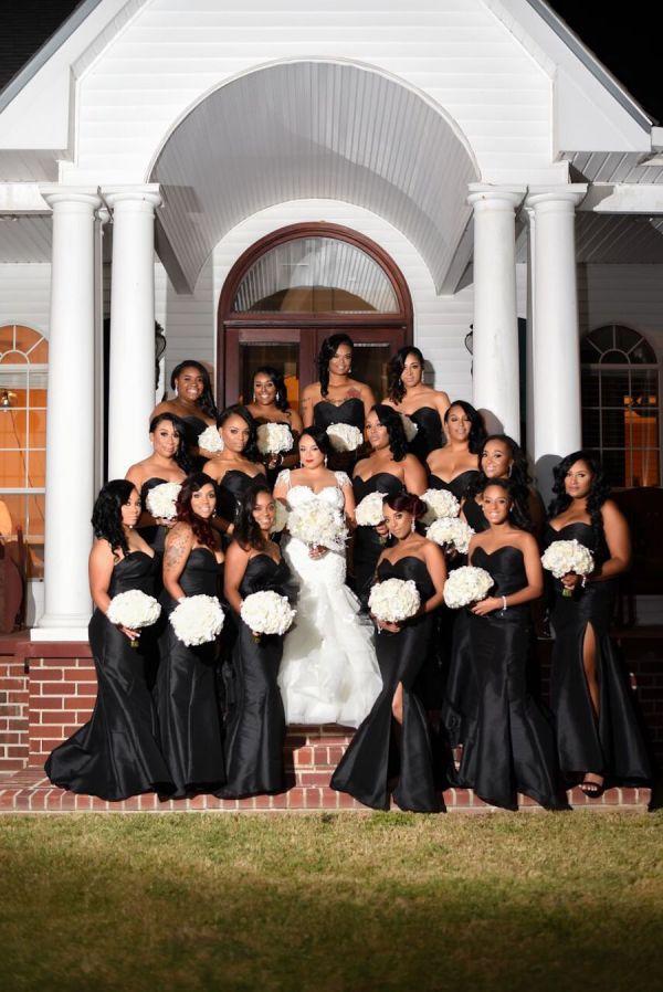 Nikki and Brent's Emotional Church Wedding in Louisiana ...