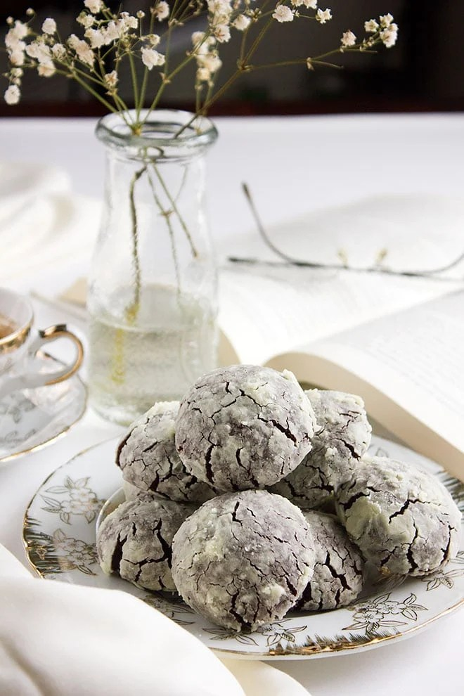 Chocolate Crinkles Brownie Like Delicious Cookies Munaty