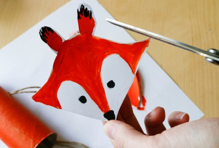 Toilet Roll Craft for Kids - A Little Fox #foxcraft #toiletrollcraft