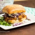 Delicious Barbecue Chicken Sandwich