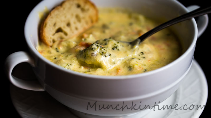 Most Pinned Soup on Pinterest Panera Broccoli Cheese Soup