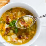 Split Pea Soup With Smoked Turkey Wing