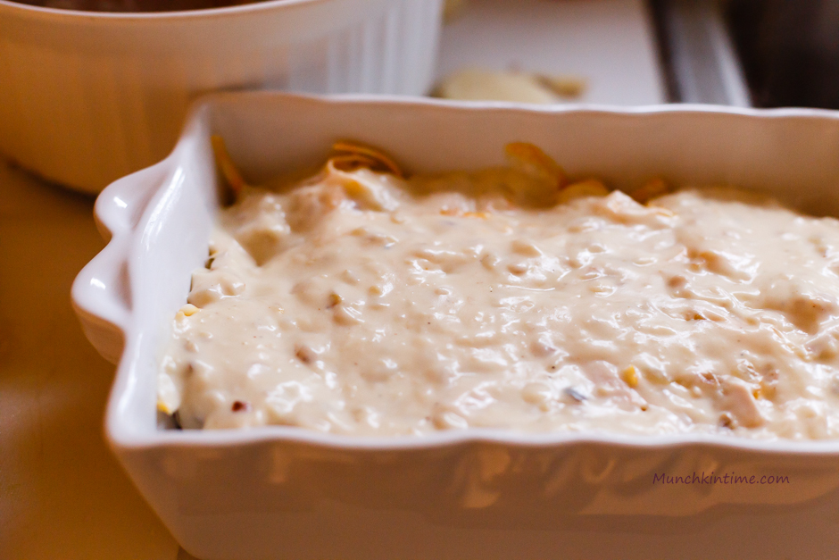 Creamy Turkey Breast and Potato Casserole