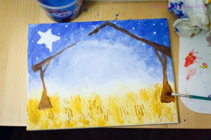 Easy Christmas Nativity Craft
