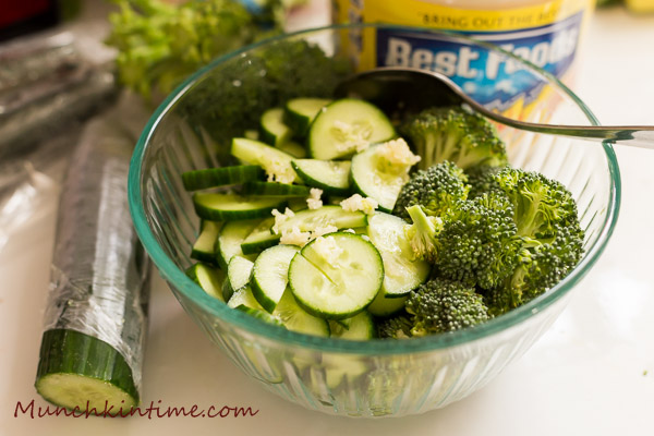 What to make with Broccoli and Cucumber? - Easy SALAD Recipe