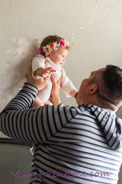 DIY: baby photography props