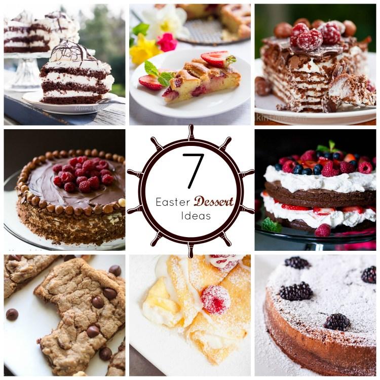 7 Easter Dessert Ideas from MunchkinTime Blog #easterdessertideas #easter