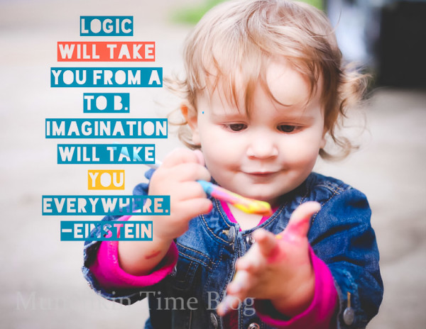 Logic will take you from A to B. Imagination will take you everywhere. - Einstein #kidsquote #quote
