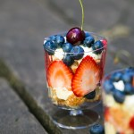 4th of July Angel Cake and Berry Trifle Recipe