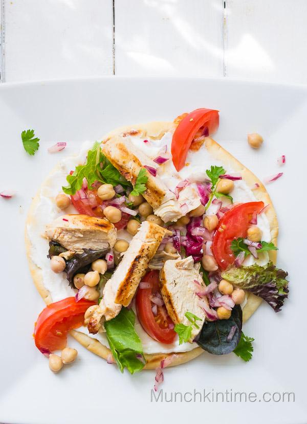 Chicken Pita Sandwich Recipe from www.munchkintime.com