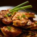 Fried Chicken Cutlets with Green Onion