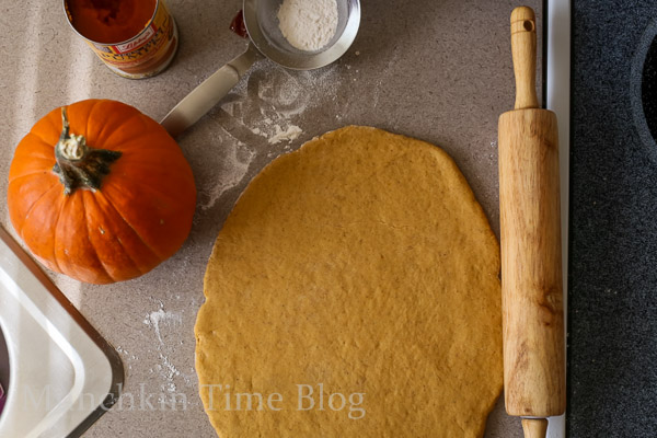 Mini Pumpkin Scones Recipe  --  www.munchkintime.com