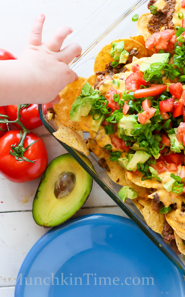 8 Ingredient Nachos Madness Recipe by Munchkintime-- - www.munchkintime.com #nachos #nachosrecipe