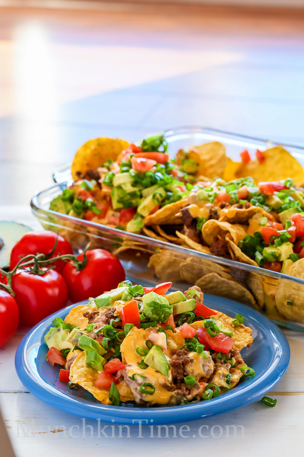 Nachos Madness Recipe Just 8 Ingredients by Munchkintime-- - www.munchkintime.com #nachos #nachosrecipe-