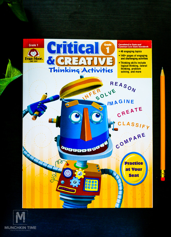 137 Creative and Critical Thinking Activity Book for Kids