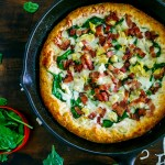Bacon Spinach Artichoke Pizza Recipe