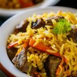 One Pot Meal – Beef Rice Pilaf Recipe (Uzbek Plov)
