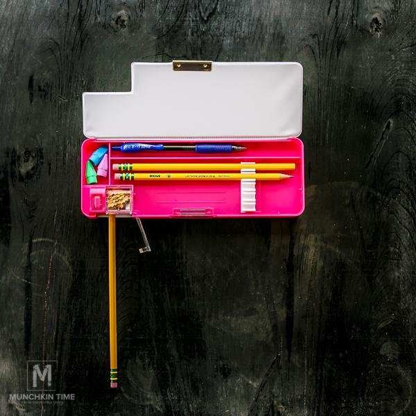 Back To School Supplies - David & Goliath's pencil box