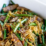 30 Minute Gluten-Free Beef Lo Mein Recipe (Video Inside)