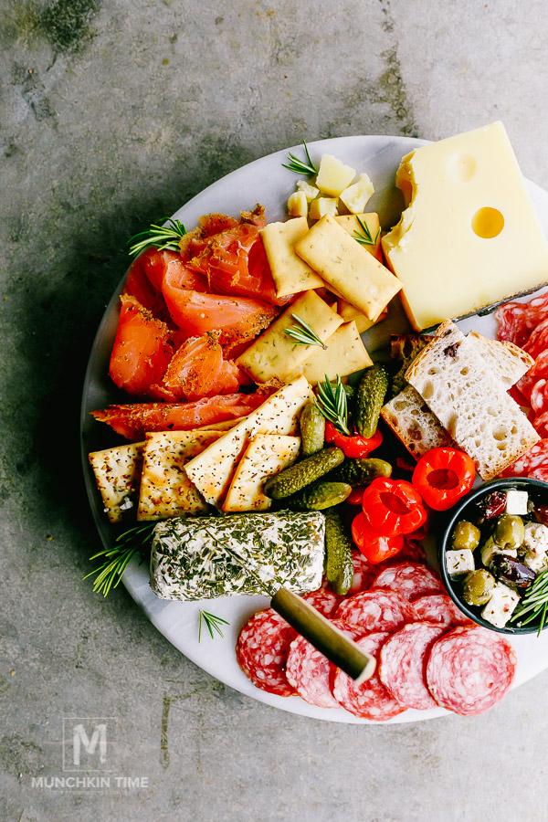 3 Easy Shrimp Charcuterie Cheese Platter Ideas