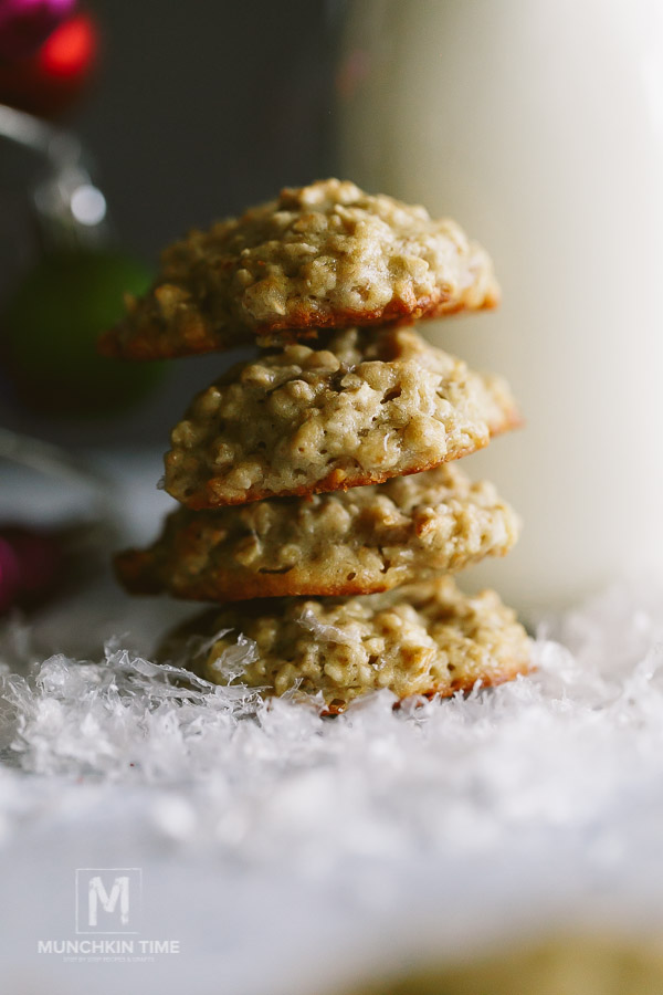 Banana Oatmeal Cookies Recipe - 10 Christmas Gift Ideas 2017