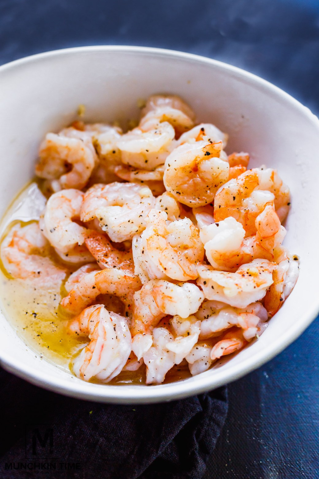 Baked Garlic Butter Shrimp Recipe