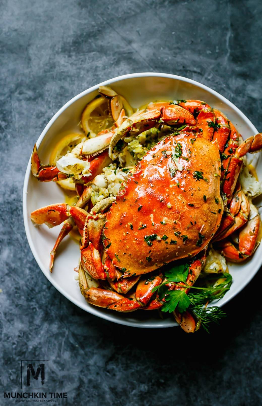 The Best Oven-Roasted Dungeness Crab Recipe