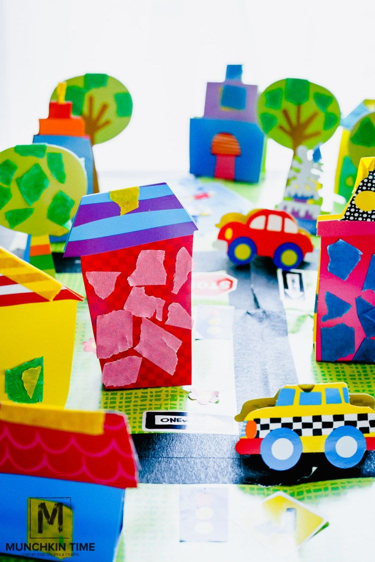 Fun Indoor Kids Activity - My Tape Town - Timberdoodle Review