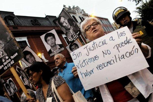 La movilización tuvo este tipo de mensajes - Juan Zapata