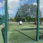 Foto de un partido del torneo