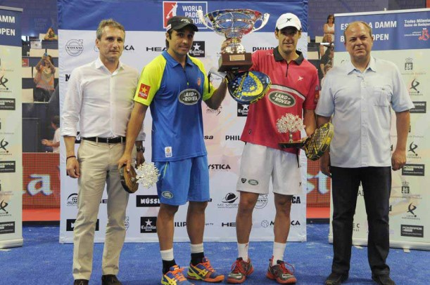 Ganadores del World Padel Tour Badajoz