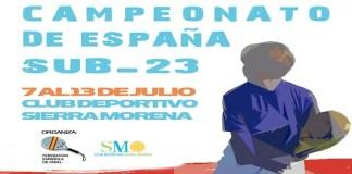 Campeonato de España de Pádel Sub 23