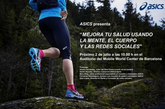 Asics conferencias de Fernando Belasteguín