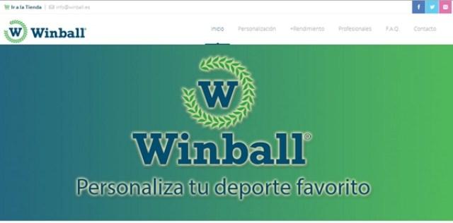 Winball renueva su página web