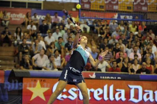 Iciar Montes en el World Padel Tour Sevilla