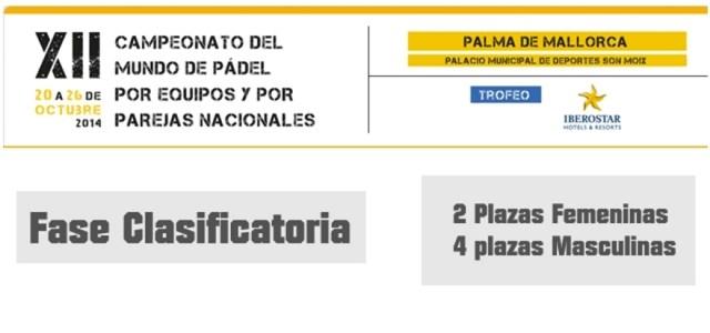 Fase de clasificación del Mundial de Pádel 2014